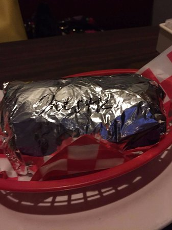 Manchester, CT: Steak and Cheese Burrito