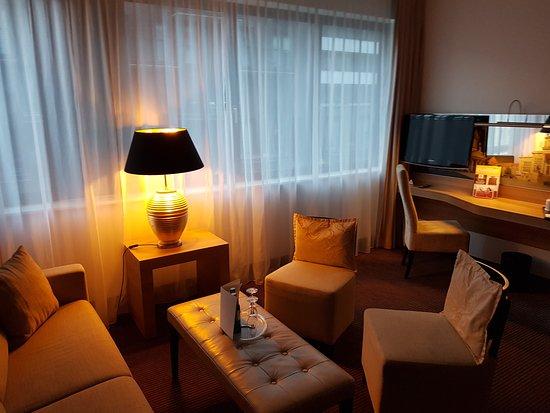 Ramada Berlin Alexanderplatz: Suite