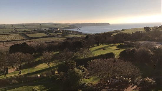 Thurlestone, UK: Got to love the view