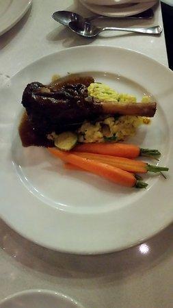 Burnaby, Canada: Braised lamb shank