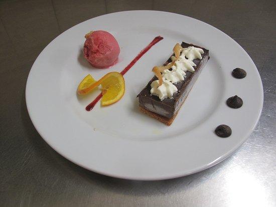 Carbon-Blanc, Francja: lingot tout choco, sorbet fraise