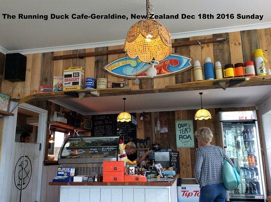 Geraldine, Yeni Zelanda: ordering area