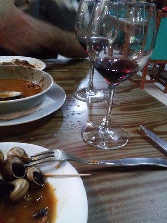 Agüimes, España: caracoles a merenda
