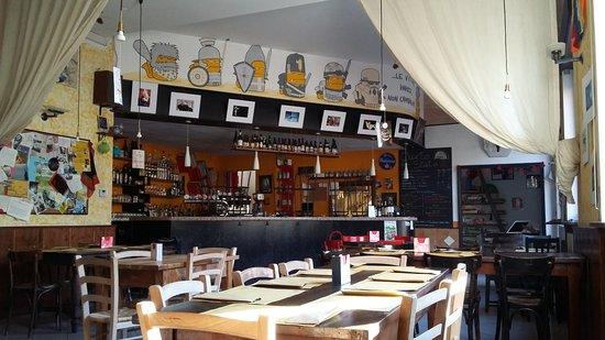 Cardano al Campo, Włochy: Il Circolo prima dell'apertura a pranzo