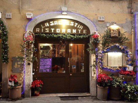 La Sagrestia - Ristorante Pizzeria: Ресторан с лучшей пиццей