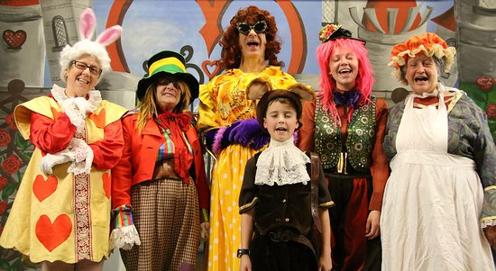 Some Of The Cast From Alice In Wonderland 2017 Panto Picture Of Prim Raf Callington Tripadvisor