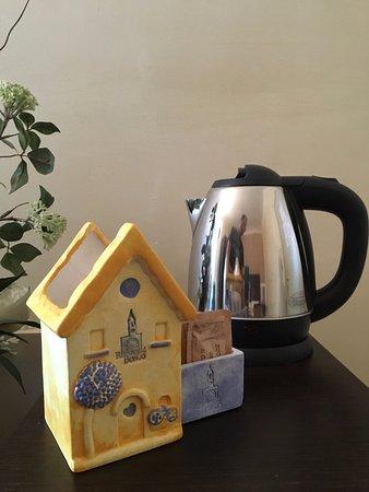 Relais del Borgo Hotel & SPA : TISANE IN CAMERA