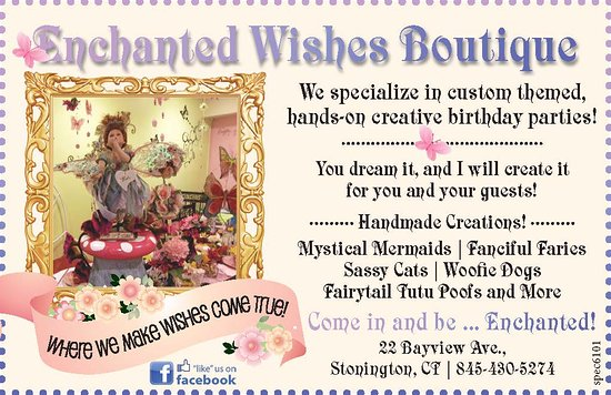 Stonington, CT: A whimsical boutique, sure to enchant the littlest Princess, as well as the Queen Mom.