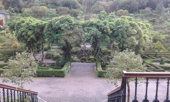 Bantry, Irlandia: Part of the gardens