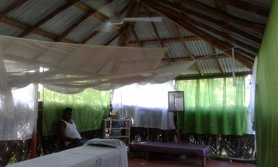 Las Galeras, สาธารณรัฐโดมินิกัน: dans la rancheta de massage