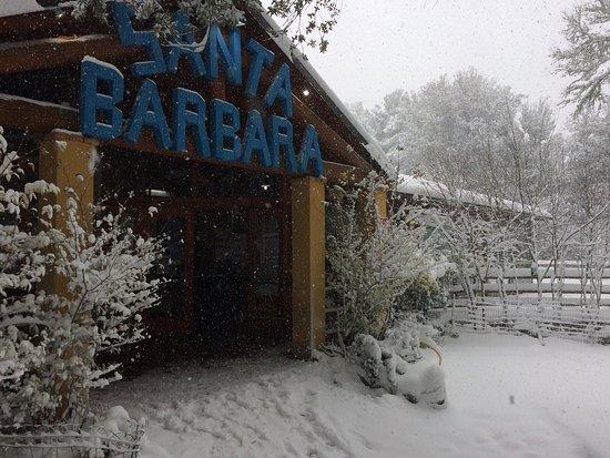 Villagrande Strisaili, Italie : Ristorante Pizzeria Santa Barbara