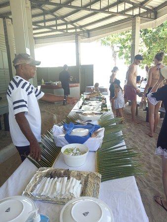 Denarau Island, فيجي: lunch