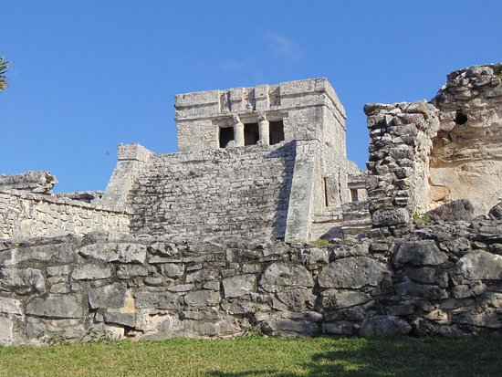 Quintana Roo, México: The main temple or Castillo