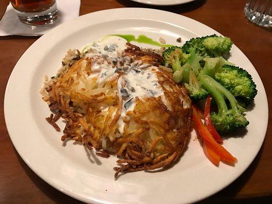 Eau Claire, WI: Potato Crusted Chicken