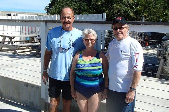 Captain Slate's SCUBA Adventures : Captain Slate, Kathy, & Steve