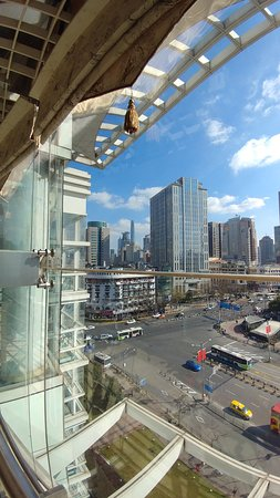Shanghai Urban Planning Exhibition Hall: View of SWFC