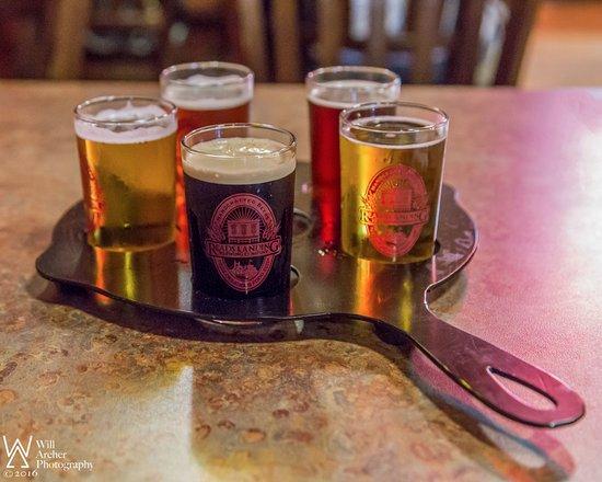 Reads Landing, Minnesota: Flight Of Beers
