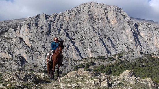 El Chorro, Espanha: Incredible riding routes with fantastic views with www.horseridingelchorro.com