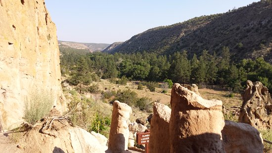 Los Alamos, NM: Overlook of Bandelier