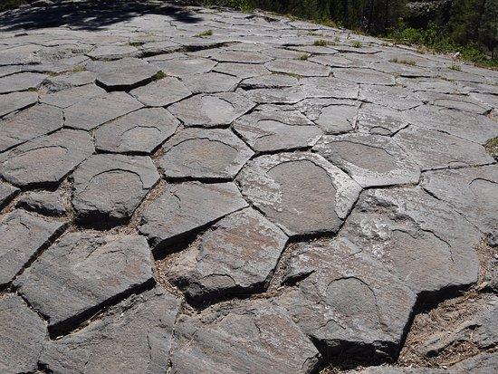 Devils Postpile National Monument: Devils Postpile (oben)
