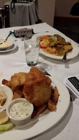 Wolcott, CT: Dinner ... plenty of food!!