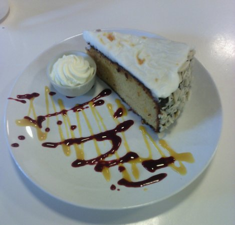 เมย์นูท, ไอร์แลนด์: Torta mandorle e arancia