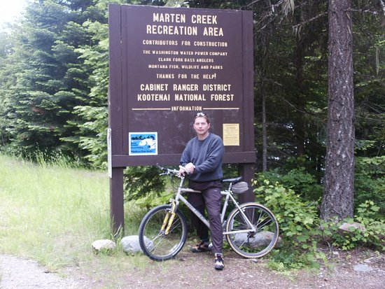 Trout Creek, MT: Biking and Hiking trails in Cabinet and Kootenai Forests.