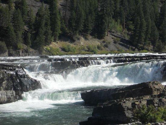 Trout Creek, Montana: Kootanai Waterfalls