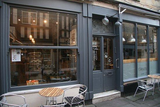 Bradford-on-Avon, UK: Gilou's Cafe. Speciality coffeehouse
