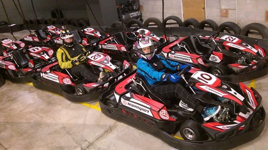 TeamSport Indoor Go Karting Manchester Victoria