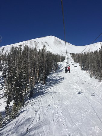 Big Sky, MT: Heading to the top