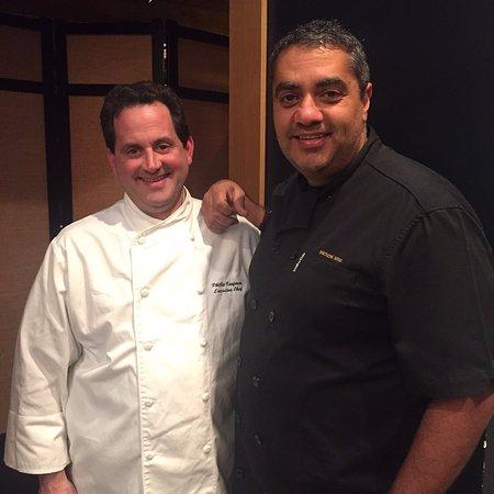 Jenner, แคลิฟอร์เนีย: Timber Cove's Chef Phillip Kaufman and Chef Michael Mina