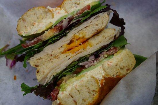 Soldotna, AK: Build-a-Bagel Sandwich