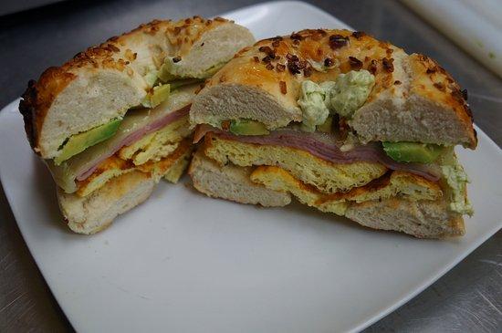 Soldotna, AK: Tasty breakfast sandwich