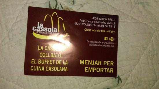 Collbato, Spagna: adres