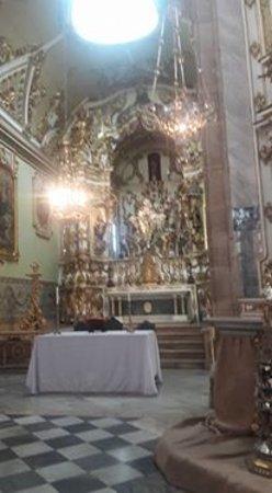 Misericordia Museum: capela  da Santa Casa da Bahia