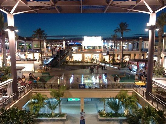 View from upper floor picture of zenia boulevard - La zenia torrevieja ...