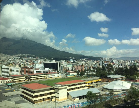 JW Marriott Hotel Quito: View from 9th Floor