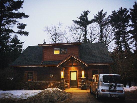 Cabin 6 at wilderness resort picture of wilderness for Dells wilderness cabin