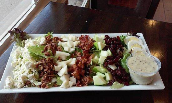 Harrodsburg, KY: Harvest cobb salad.