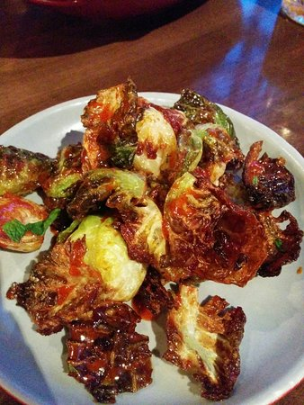 Korean Brussel Sprouts