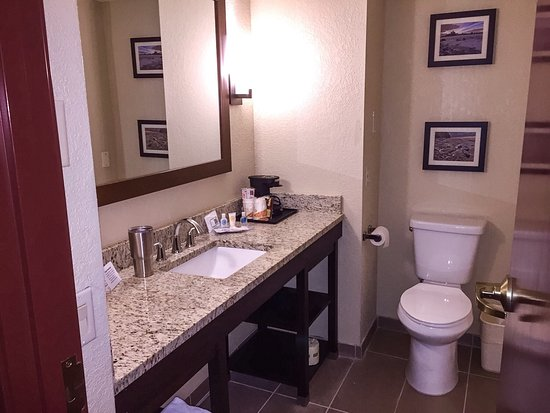 Allen Park, MI: Nice room, excellent breakfast, a couple of cosmetic issues.