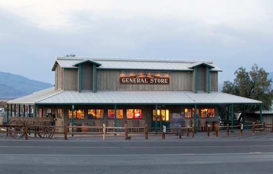 stovepipe wells village general store and gas station, open daily