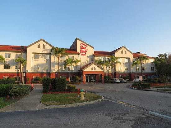 Red Roof Inn Orlando West   Ocoee: The Hotel From Parking Lot Of Dennyu0027s,