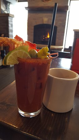 Holiday Inn Steamboat Springs: Bacon Bloody Mary