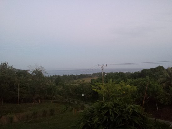 Oinan Surf Lodge: Sceanary from Oinan