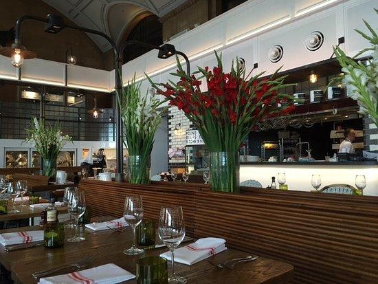 Fresh Gladiolas Picture Of Sean S Kitchen Adelaide