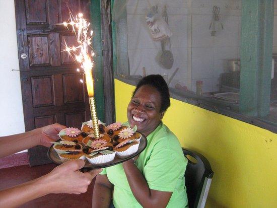 Castara, Tobago : Debbie's birthday :-)