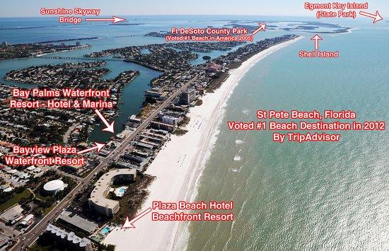 Plaza Beach Hotel Beachfront Resort Aerial Picture