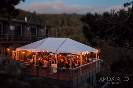 Timber Cove Resort Tented Wedding On The Ansel Adams Deck